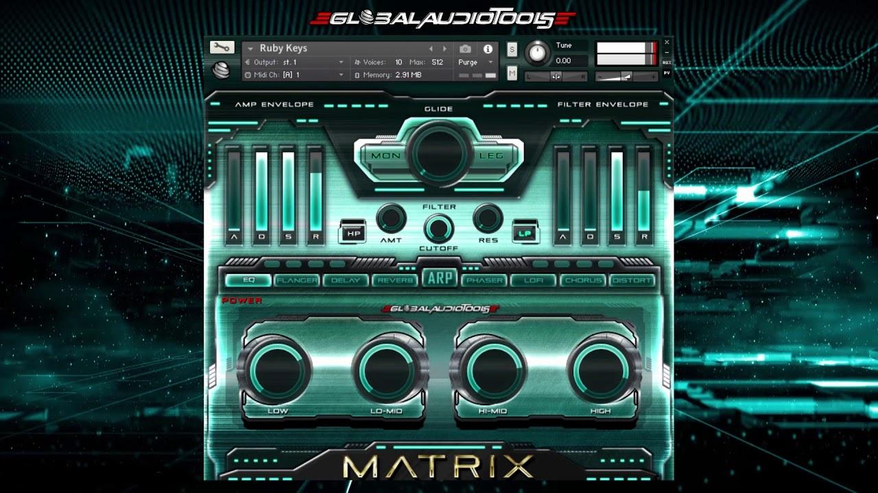 Global Audio Tools MATRIX (KONTAKT) Cover