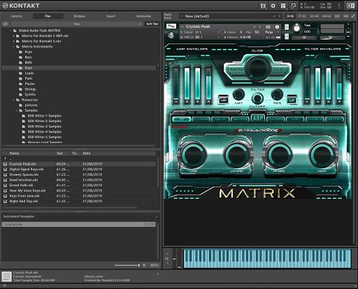 Global Audio Tools MATRIX (KONTAKT) Crack Free Download