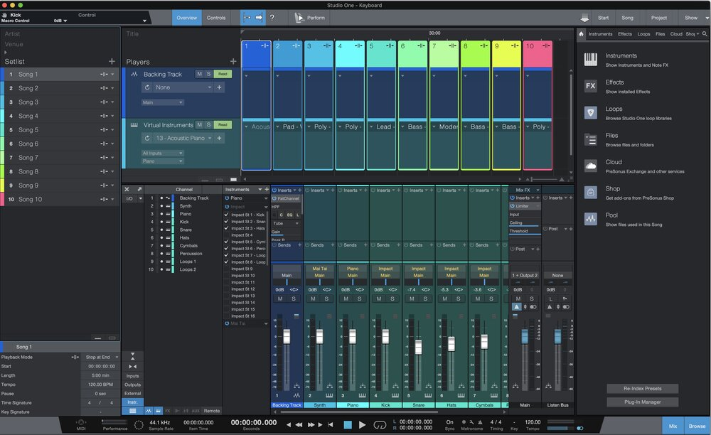 PreSonus Studio One Professional Crack Free Download