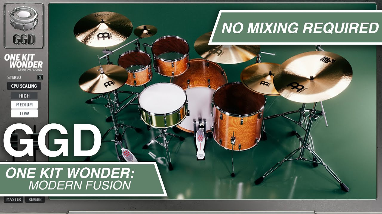GetGood Drums One Kit Wonder Modern Fusion Cover