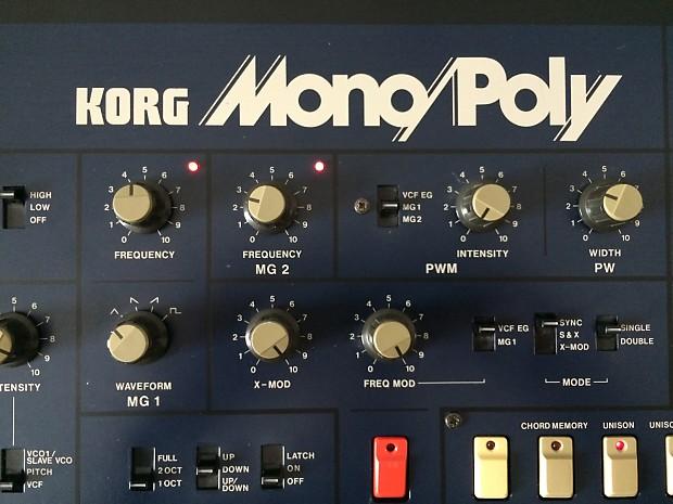 KORG MonoPoly Cover