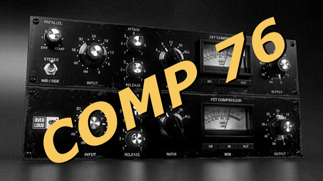 Overloud Gem Comp76 Cover