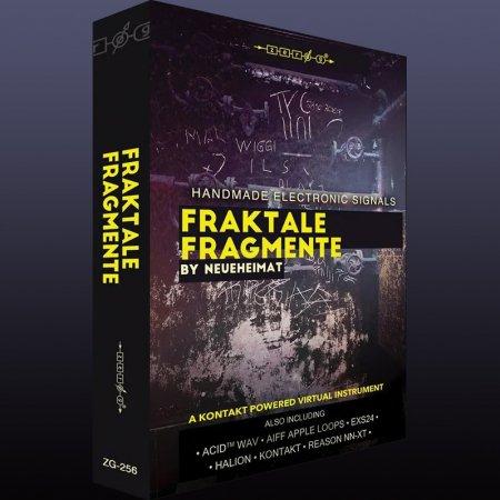 Zero-G Fraktale Fragmente (KONTAKT) Cover