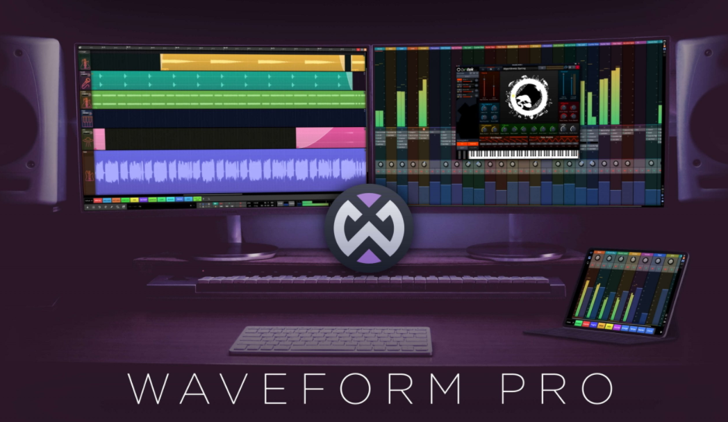 Tracktion Software – Waveform Cover