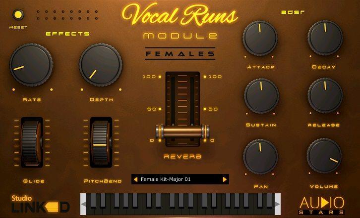 StudioLinked – Vocal Runs VSTi, AUi WIN.OSX x86 x64 Crack Free Download