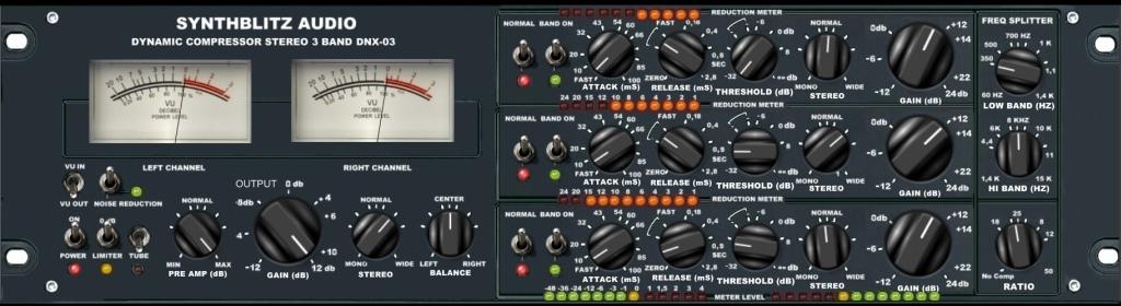 Synthblitz Audio – DNX 03 Multiband Compressor Crack Free Download