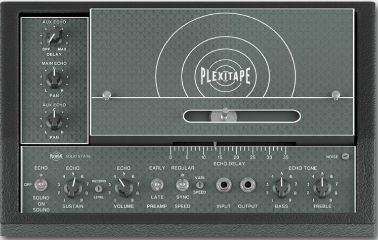 Audiority PlexiTape Cover