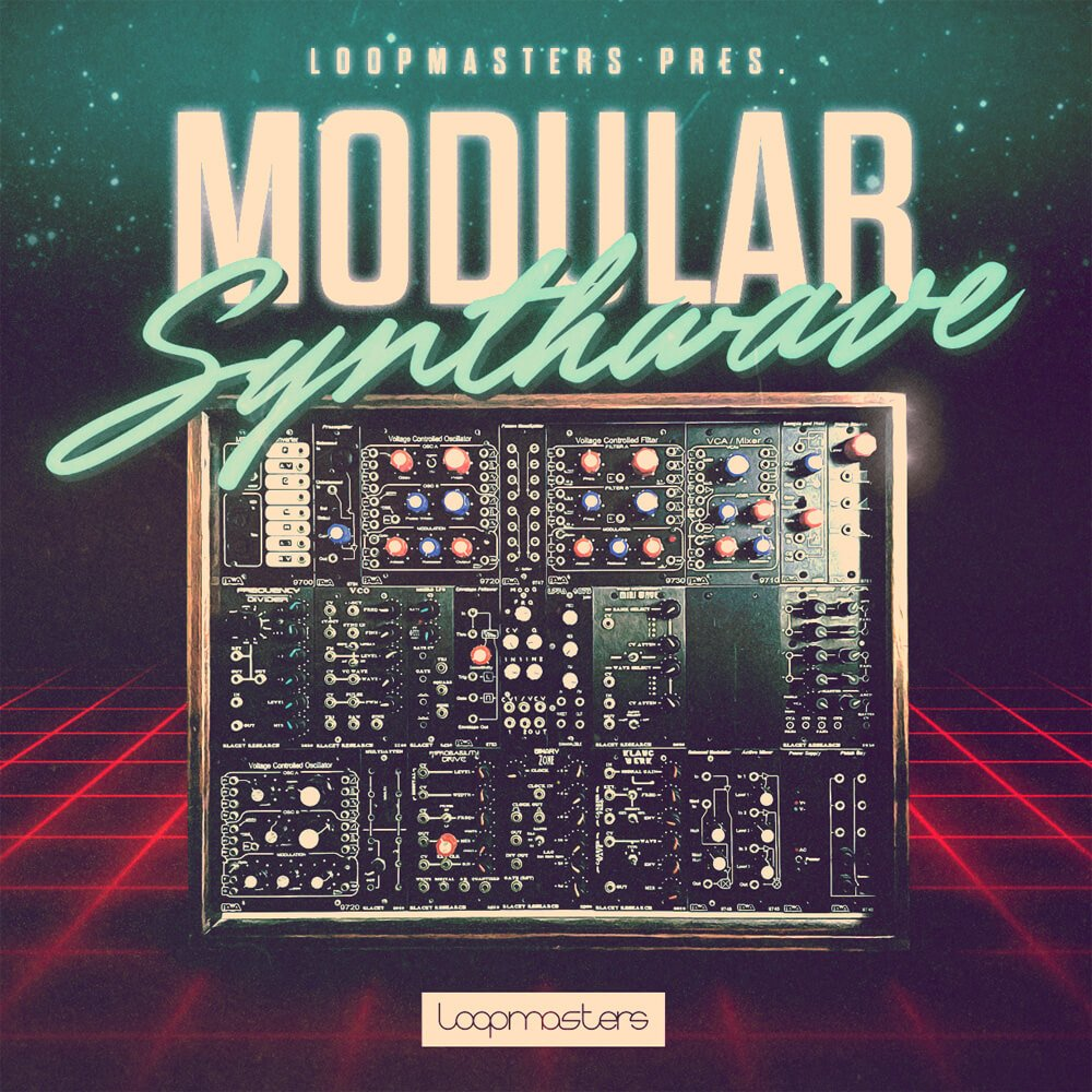 Loopmasters – Modular Synthwave Cover