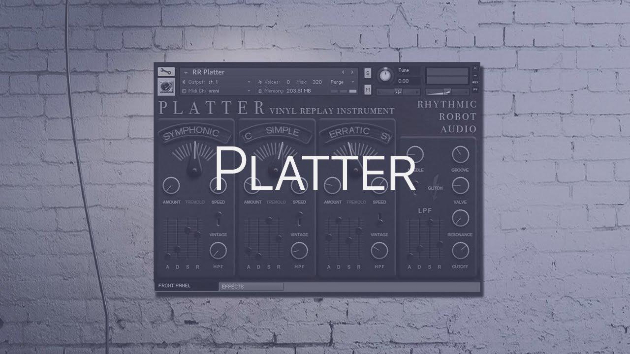 Rhythmic Robot Platter (KONTAKT) Cover