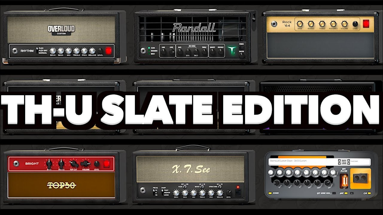 Overloud TH-U Slate Edition Cover