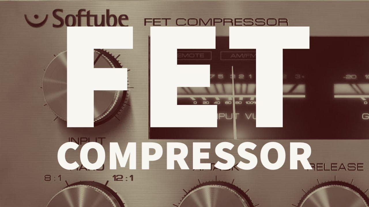 Softube FET Compressor Cover