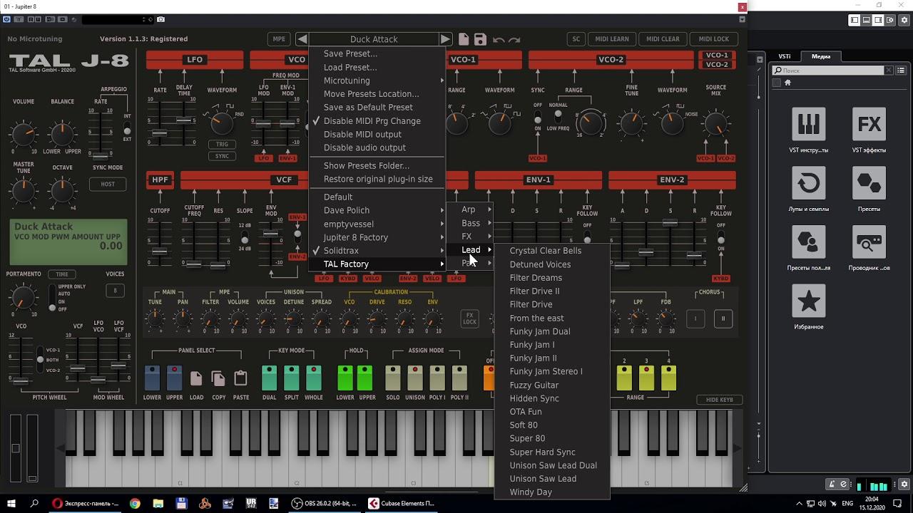 TAL Software – TAL-J-8 VSTi, VSTi3, AAX x64 Crack Free Download