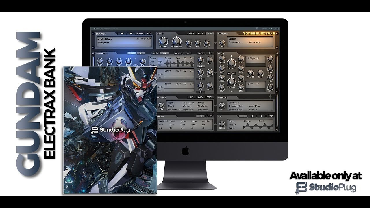 StudioPlug – Gundam (ElectraX Bank) Cover