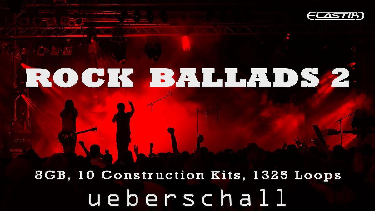 Ueberschall – Rock Ballads 2 (ELASTIK) Cover