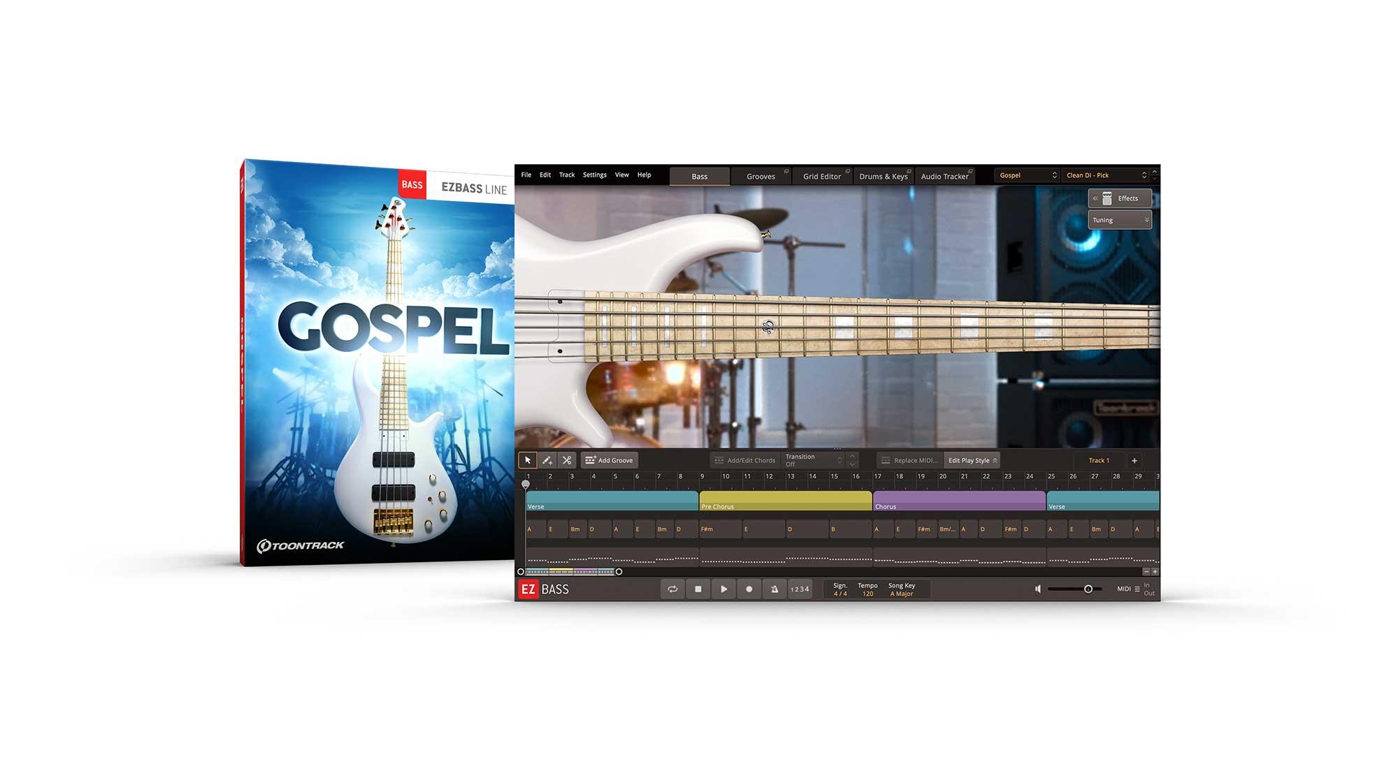 Toontrack – Gospel EBX Cover