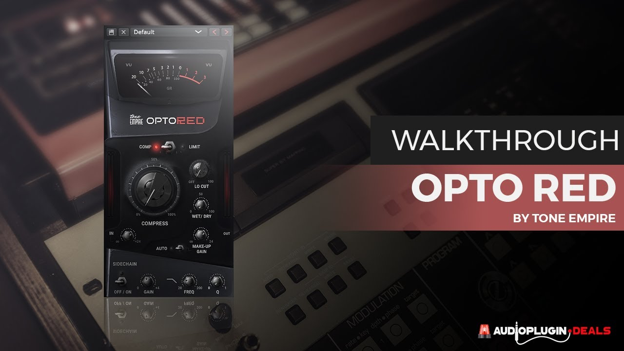 Tone Empire OptoRED Crack Free Download