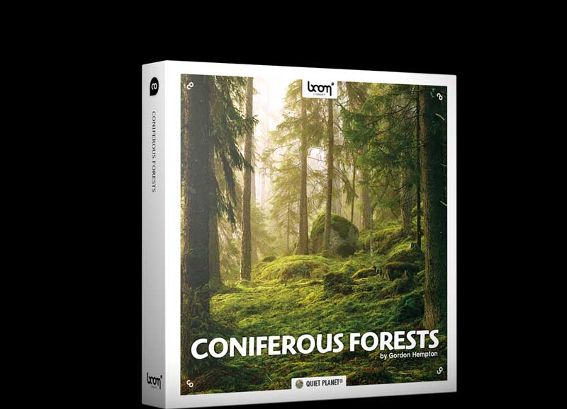 Boom Library – Coniferous Forests STEREO & SURROUND (WAV)